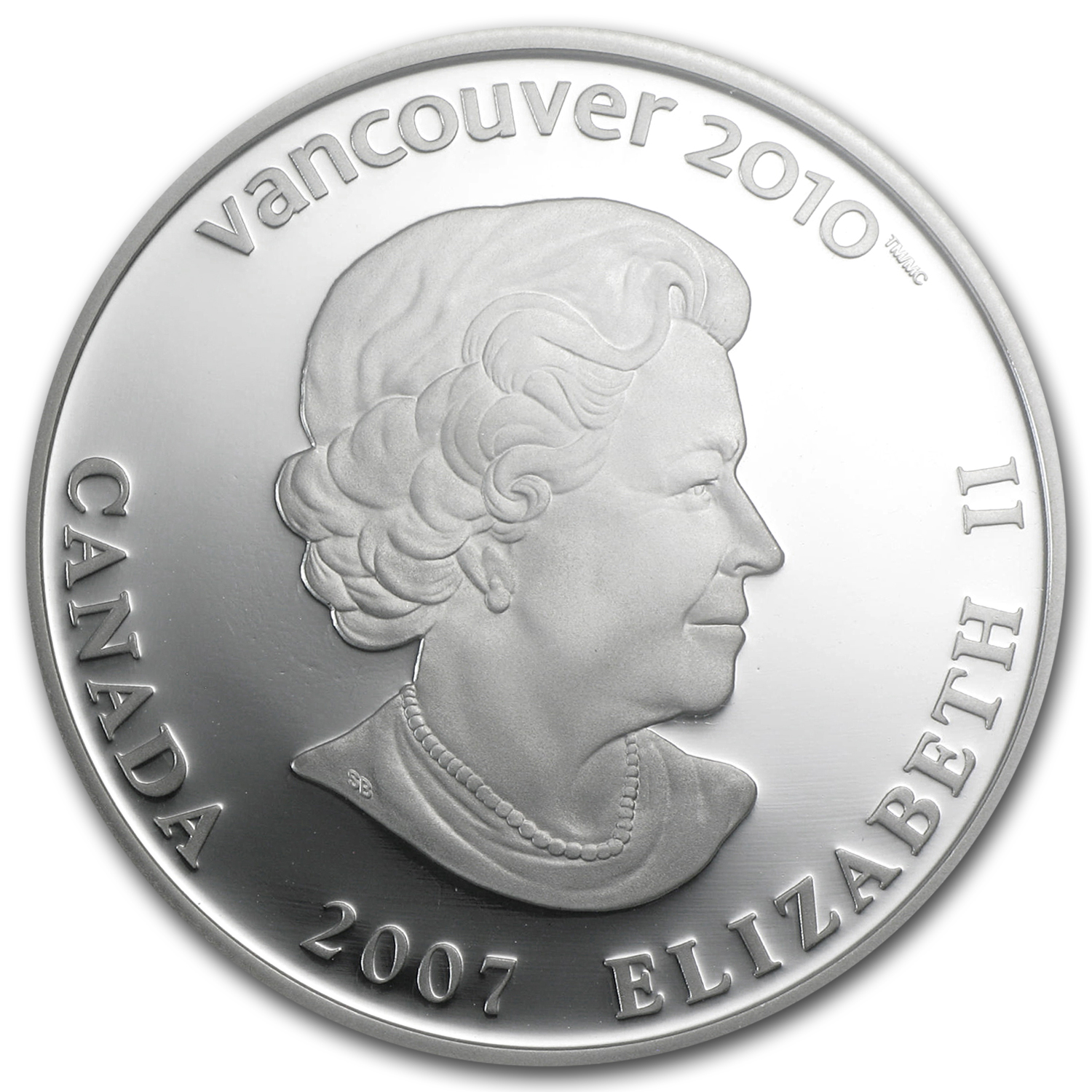 2007 Canadian $25 Olympic Ice Hockey PF-70 UCAM NGC